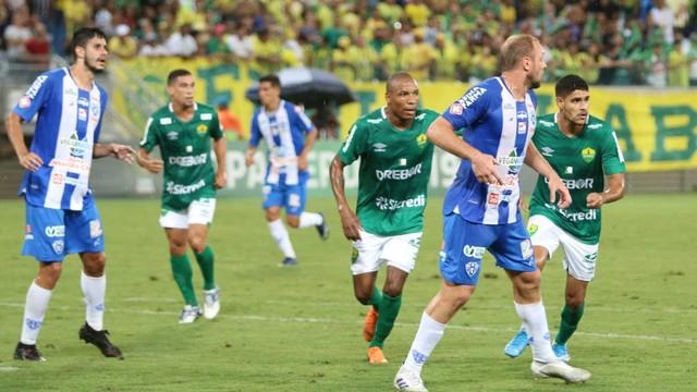 Paysandu venceu Cuiabá na ida da final da Copa Verde
