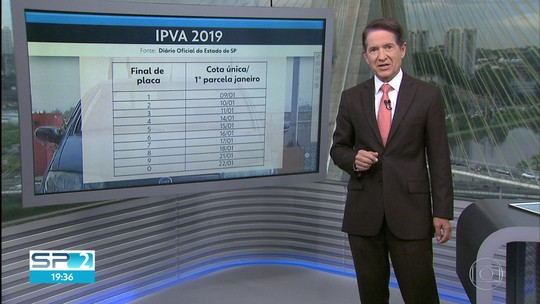 IPVA 2019 em SP: Veja quanto você vai pagar no imposto do seu veículo