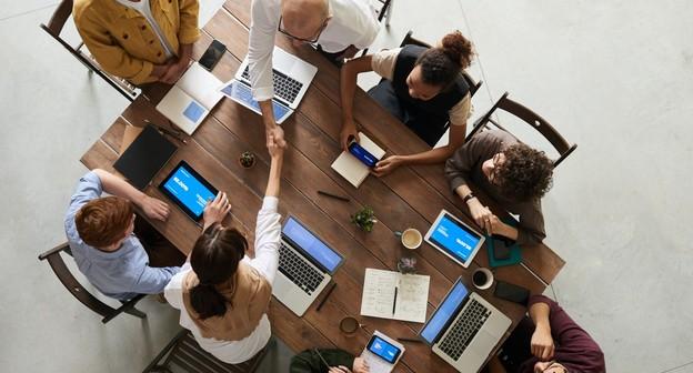 startup reunião empreendedor