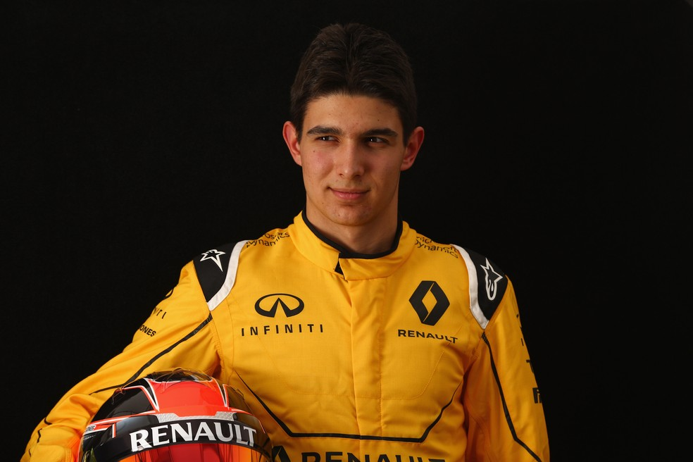 Piloto da academia da Mercedes, Esteban Ocon já foi reserva da Renault na Fórmula 1 — Foto: Robert Cianflone/Getty Images