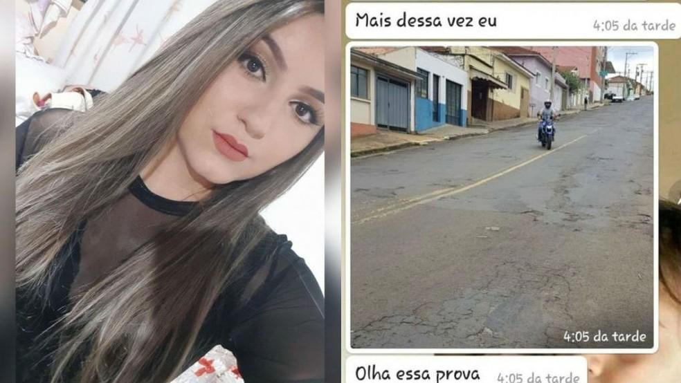 Adrielli foi morta com cinco tiros em São Manuel  — Foto: Arquivo pessoal