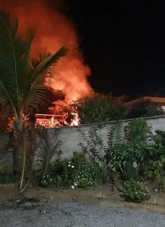 Incêndio deixa diversas aves mortas em chácara na Zona Rural de Descoberto, MG