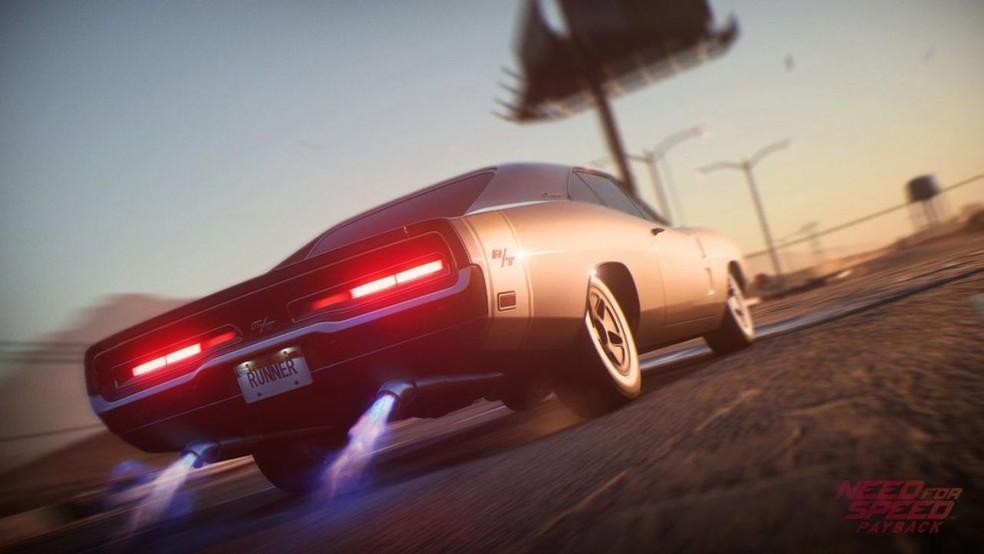 Need for Speed Payback dois um dos últimos jogos da série — Foto: Divulgação/EA
