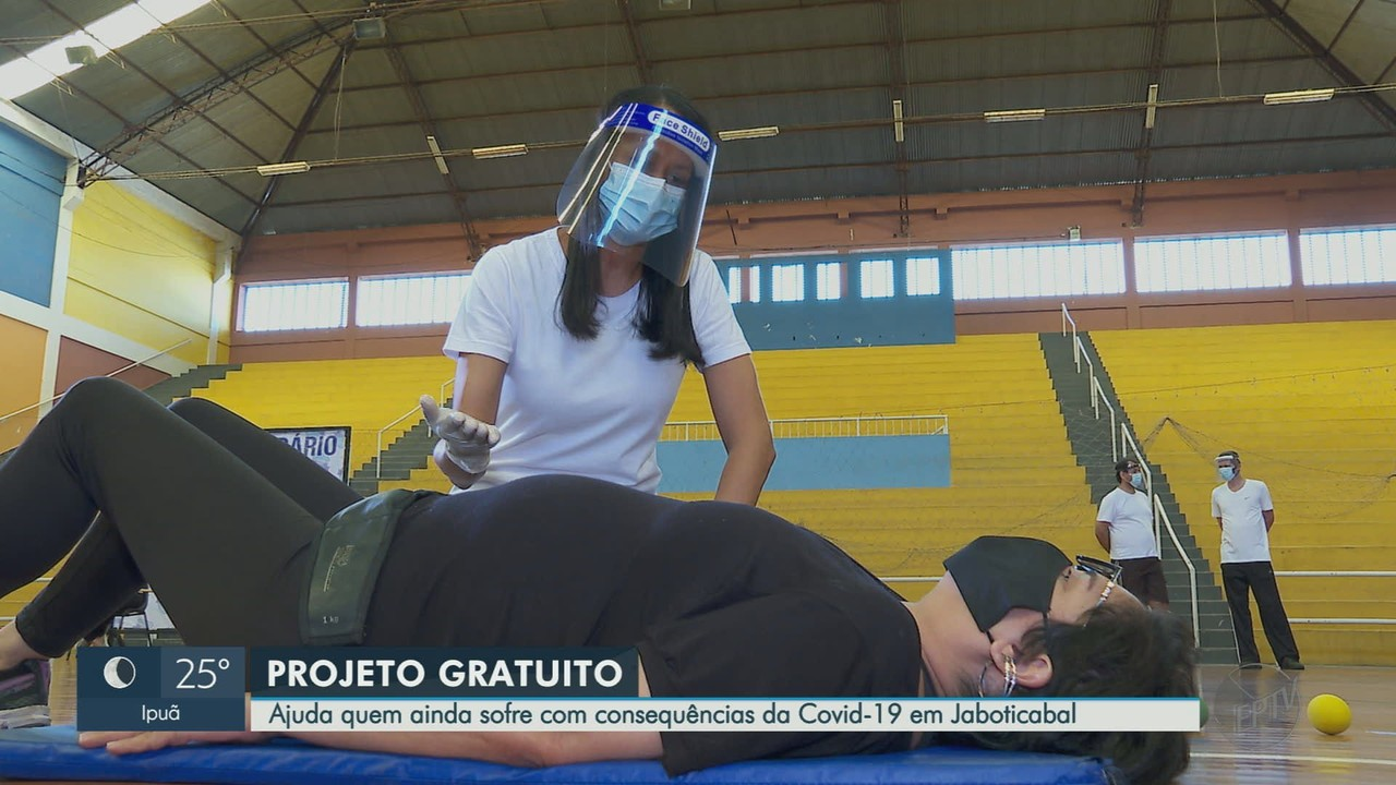 Projeto ajuda pacientes curados da Covid-19 a recuperarem condicionamento em Jaboticabal