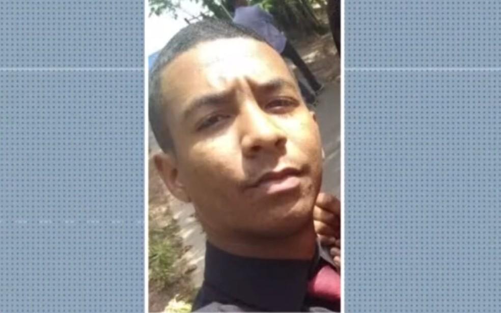 Wallace Souza Santos está desaparecido desde segunda-feira (7) quando faria uma entrega em Ilha Amarela — Foto: Reprodução/TV Bahia
