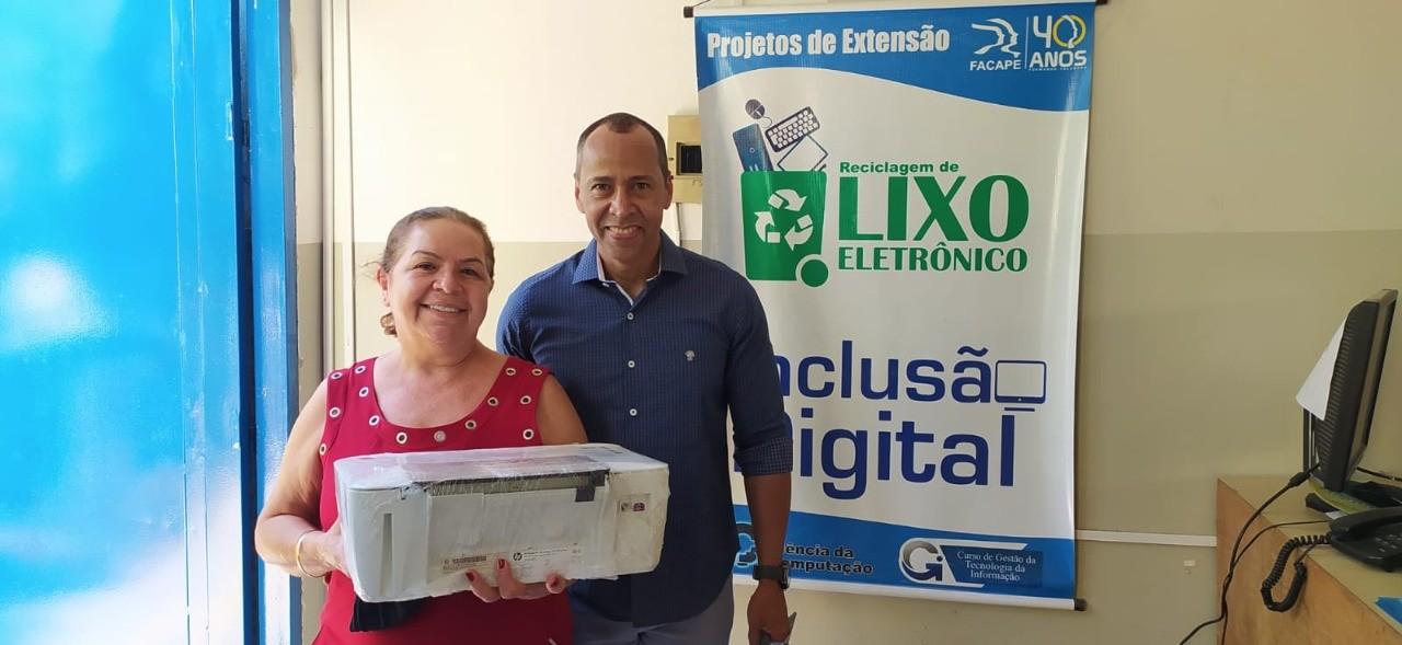 Projeto realiza doação de equipamentos de informática à instituições sociais de Petrolina