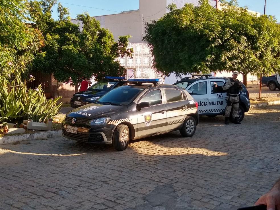 Operação cumpriu 10 mandados de busca e apreensão em Carnaúba dos Dantas — Foto: Polícia Civil/Divulgação