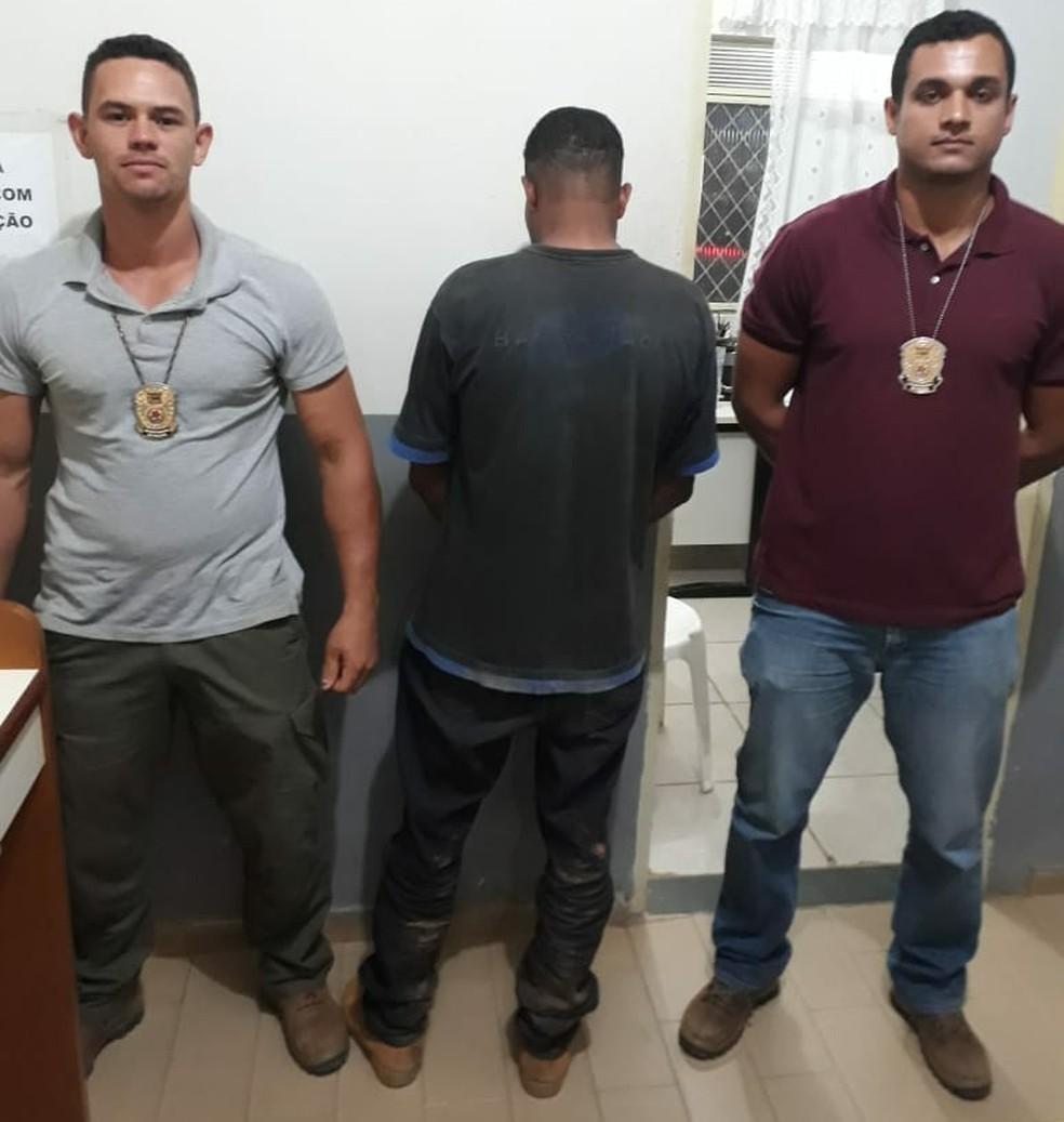 Autor do duplo homicídio é preso em Itambacuri (Foto: Polícia Civil/Divulgação)