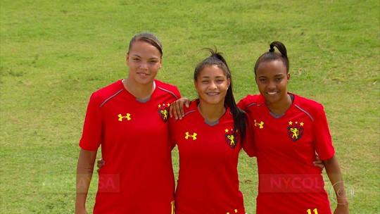 """Trio do Sport convocado para seleção vibra com """"sonho que se transformou em realidade"""""""