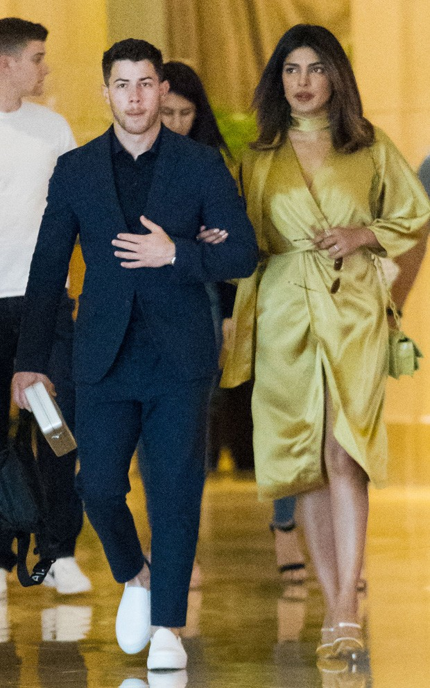 Priyanka Chopra e Nick Jonas (Foto: Grosby Group)