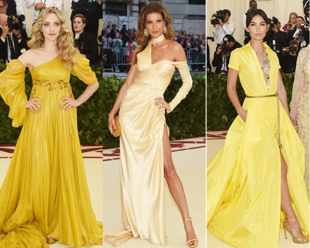 amarelo no met gala (Foto: Getty Images)