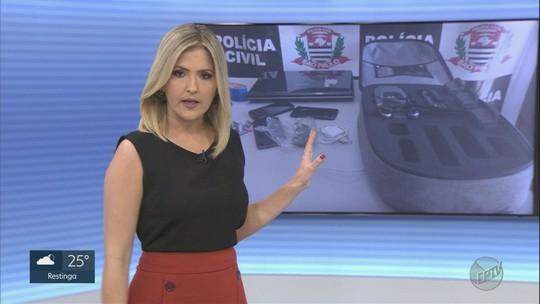 Suspeito de tráfico de drogas tinha drone para 'vigiar' operações em Bebedouro, diz Polícia Civil