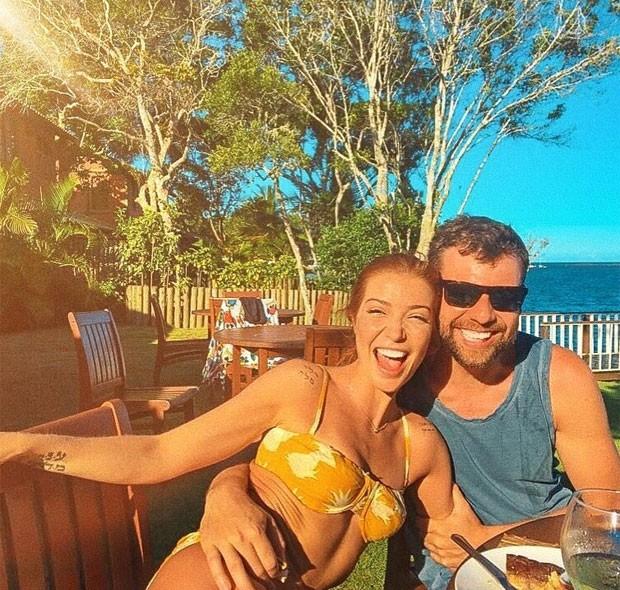 Luiza Possi e namorado (Foto: Reprodução)