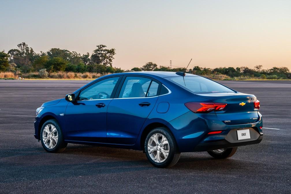 Chevrolet Onix Plus 2020 é o 'novo Prisma' — Foto: Chevrolet/Divulgação
