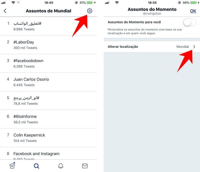 Twitter: como acessar os Trending Topics pelo celular
