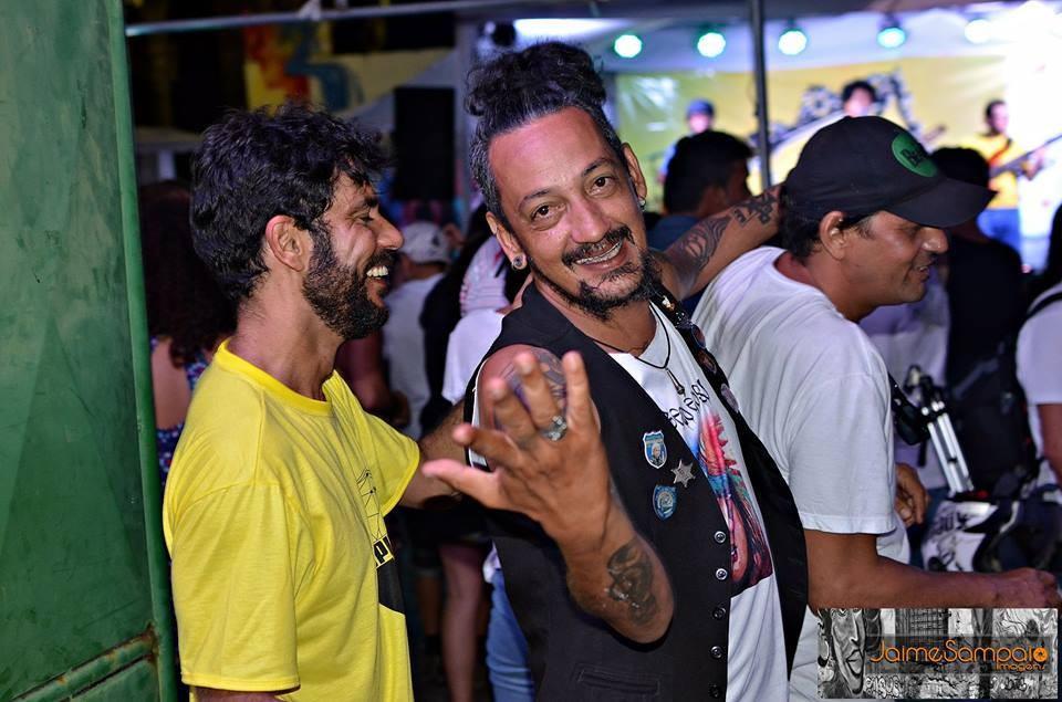 Amigos fazem campanha para ajudar no tratamento de câncer do multiartista Márcio Punk, de Feira de Santana