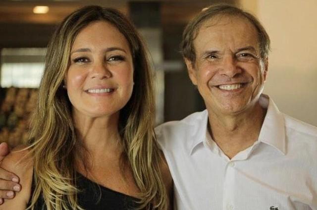 Adriana Esteves e Hermes Frederico (Foto: Arquivo pessoal)