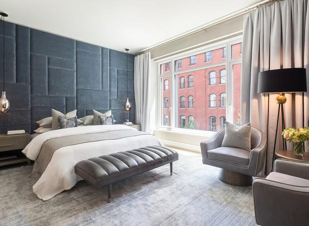 Os quartos são banhados à luz natural que passa através de grandes janelas (Foto: Related Companies/ Reprodução)