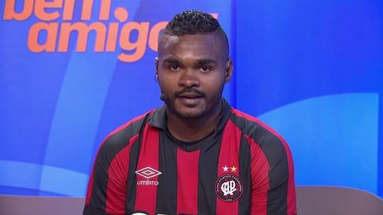 """Jogadores do Atlético-PR vibram com quebra de jejum: """"A sorte começou a mudar"""""""