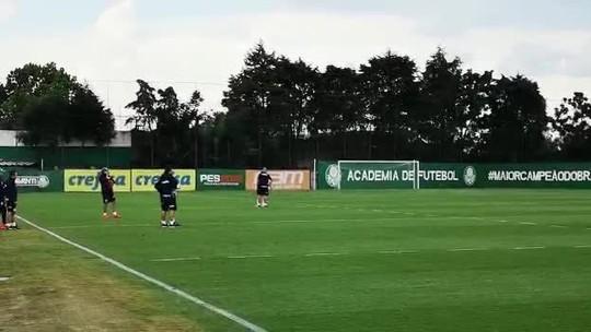 Felipão tem nova conversa com Dudu e dá pista de lista de inscritos do Palmeiras no Paulistão