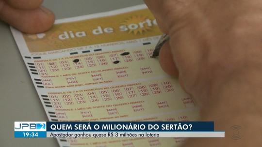 Apostador do Sertão ganhou quase 3 milhões de reais na loteria