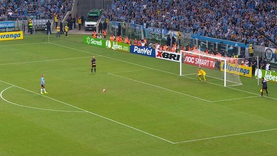 Confira a disputa de pênaltis entre Grêmio e Inter na final do Gauchão