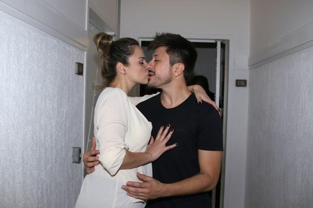 Ana Paula Renault e Rudimar de Maman (Foto: Thiago Duran/AgNews)