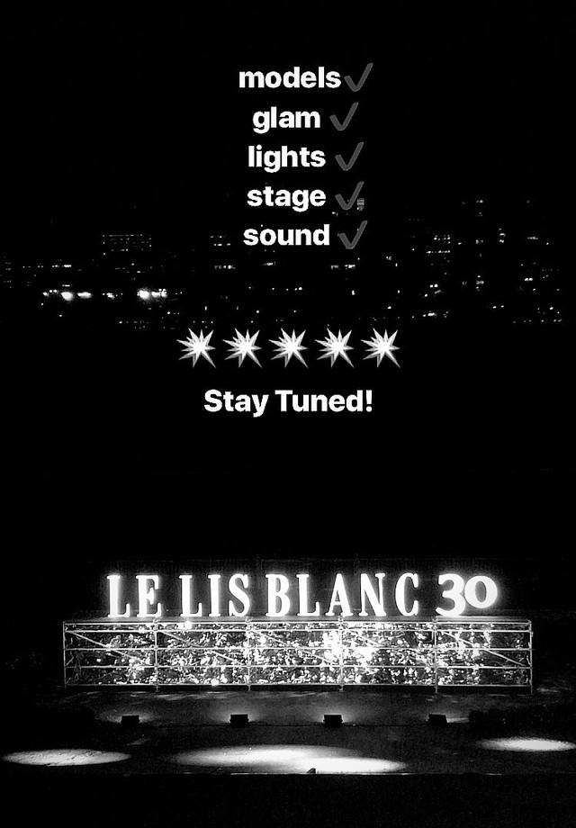 O desfile da Le Lis Blanc acontece no Jockey Club (Foto: reprodução/Instagram)