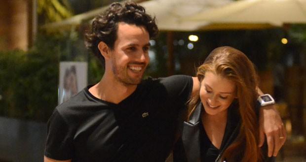 Marina Ruy Barbosa e Xande Negrão (Foto: AgNews / Webert Belicio)