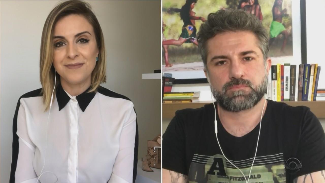 Kelly Matos e Paulo Germano falam sobre o aumento de casos de Covid-19 no RS