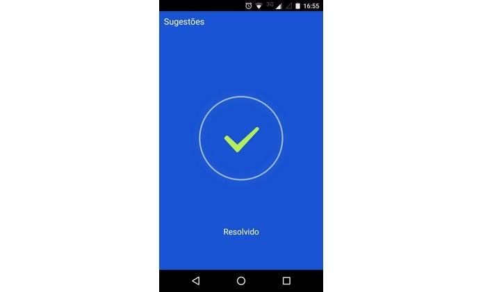 Bateria do Android economizada com Trash Manager (Foto: Reprodução/Raquel Freire)