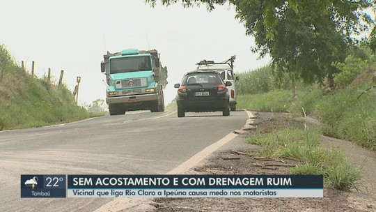 Problemas nas duas estradas que ligam Rio Claro e Ipeúna preocupam motoristas