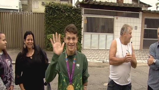 Após ouro no Parapan, Nathan Torquato, do taekwondo, mira medalha dourada em Tóquio