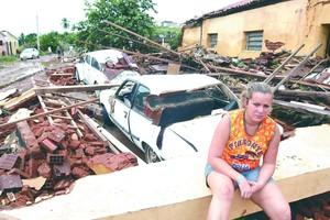 Barragem Camará deixou destruição na Paraíba