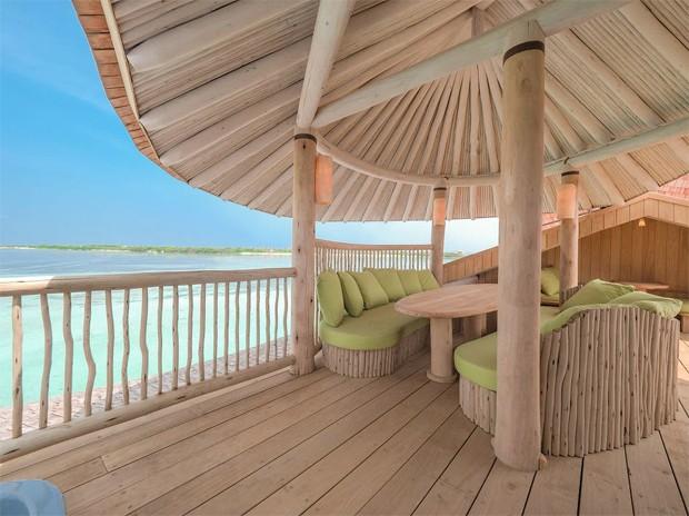 Sasha e João Figueiredo se hospedam em hotel de luxo nas Maldivas (Foto: Site oficial Soneva Jani )