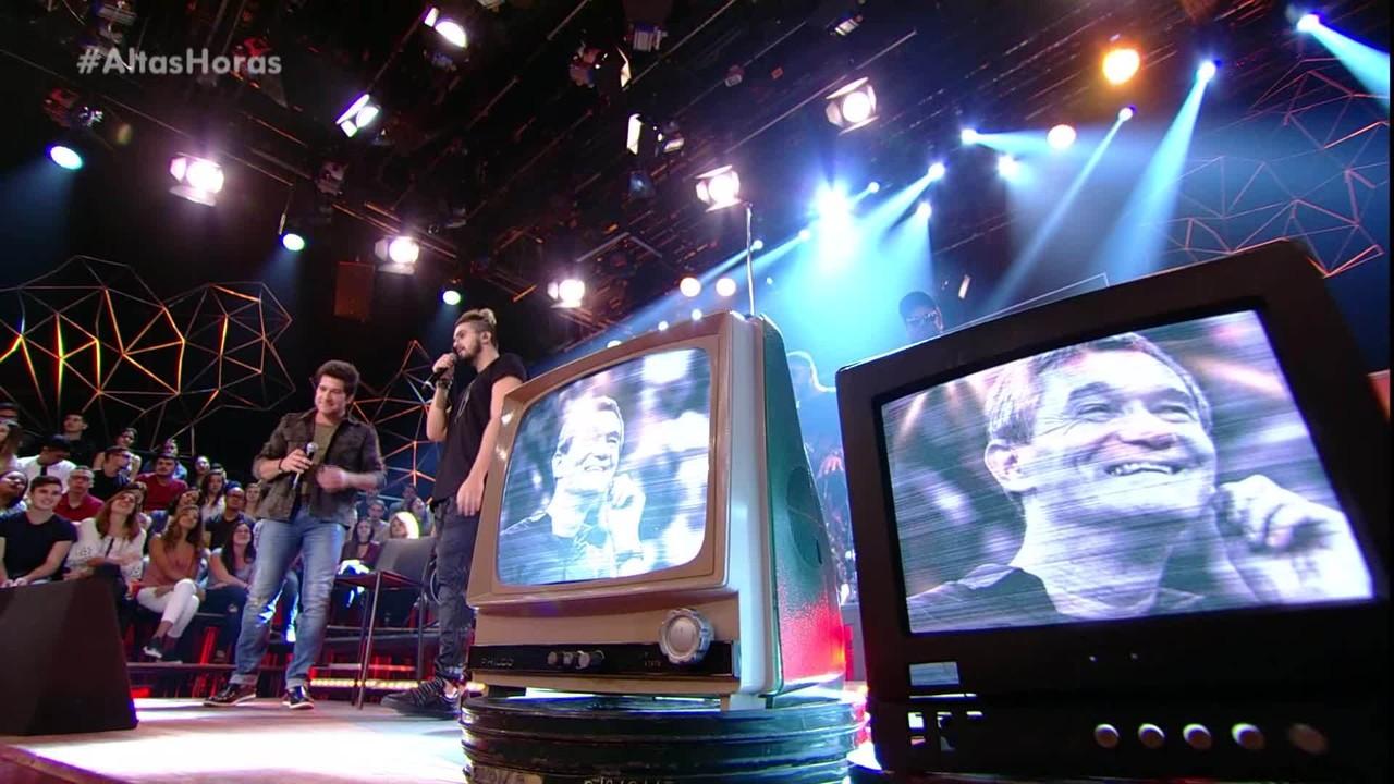 Luan Santana canta 'Dia, Lugar e Hora' com Daniel