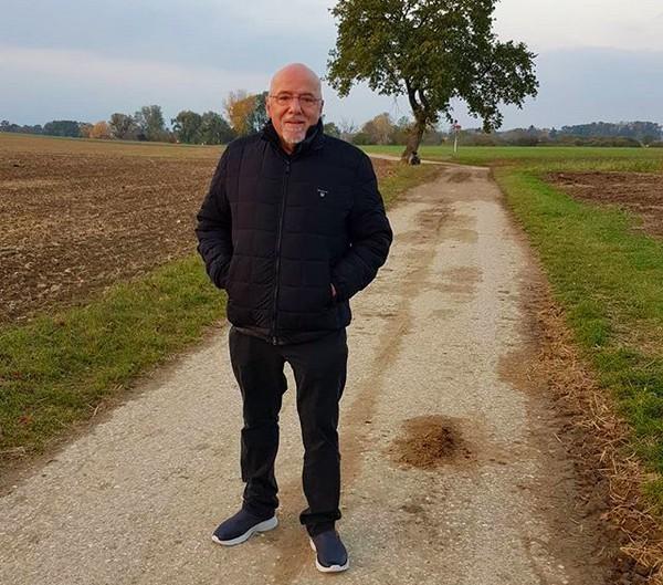 O escritor brasileiro Paulo Coelho (Foto: Instagram)