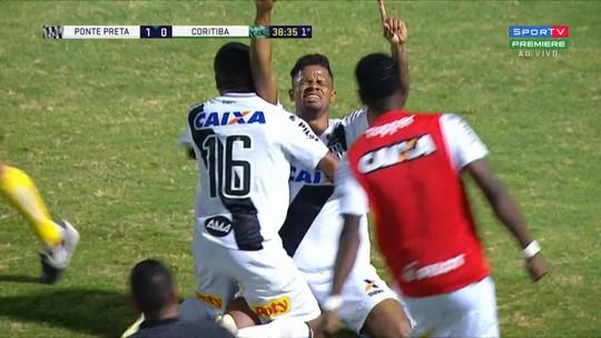 Gol, drama com pai e exemplo na preleção da Ponte: noite especial emociona Júnior Santos