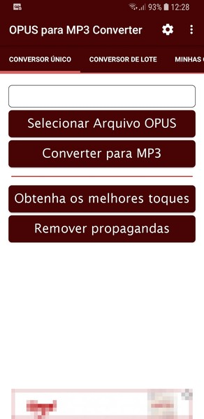 Opus to Mp3 Converter | Download | TechTudo