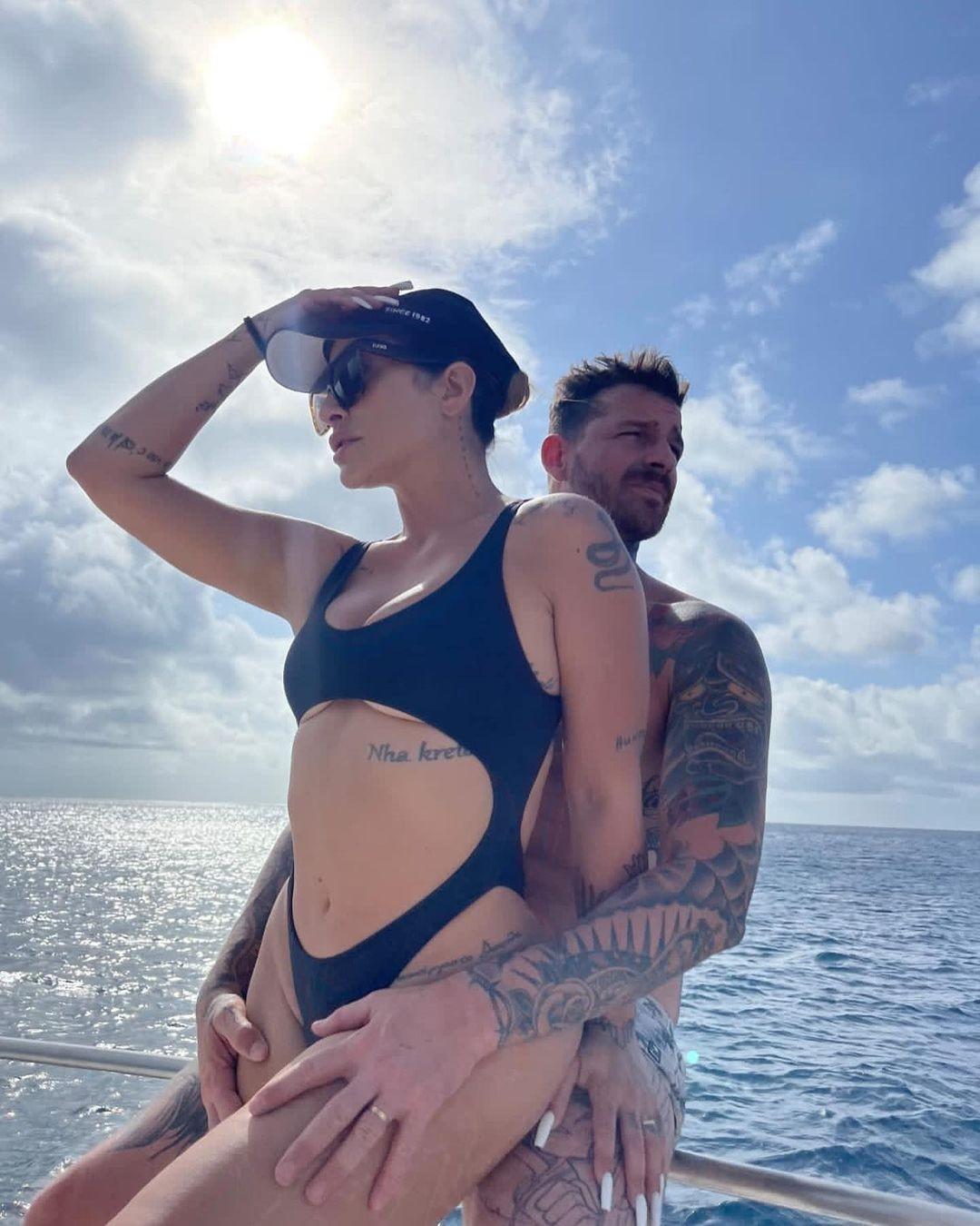 Cleo e Leandro D'Lucca (Foto: Reprodução/Instagram)