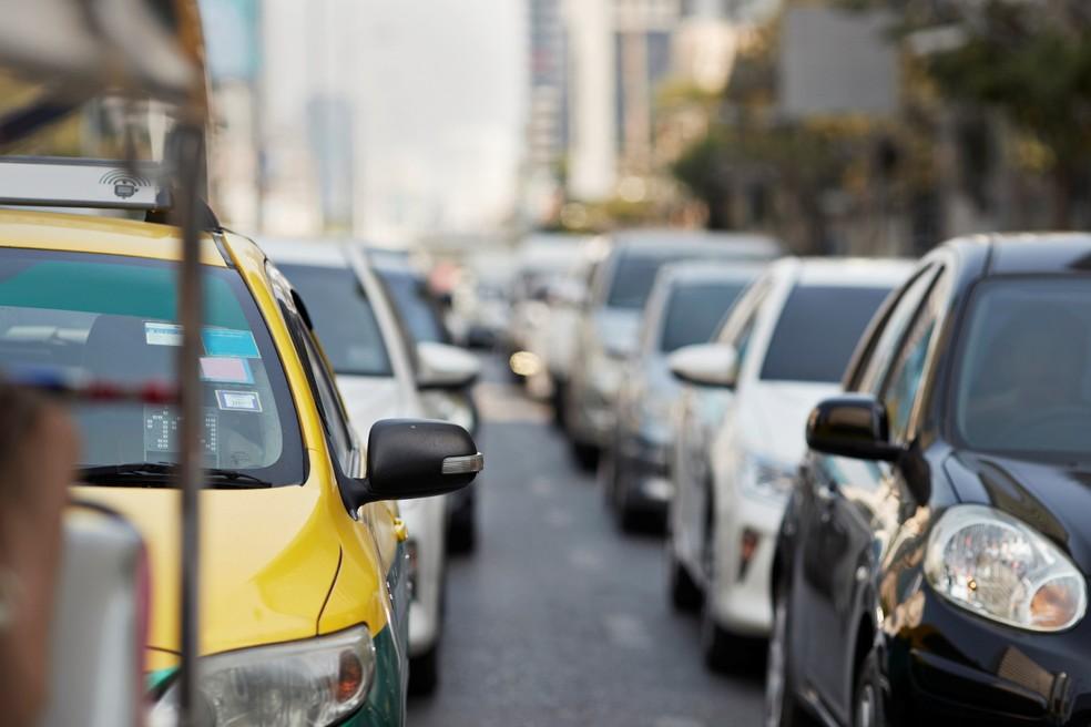 Trânsito; SP; São Paulo;  — Foto: Getty Images