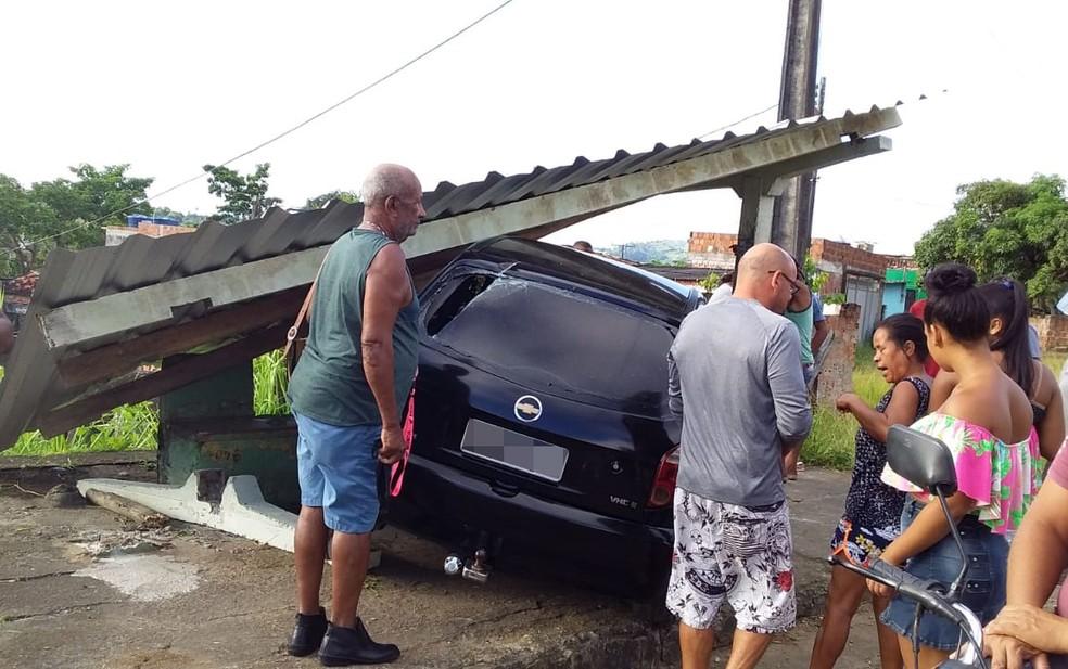 Acidente ocorreu em Ibicaraí, sul da Bahia — Foto: Reprodução / Redes Sociais