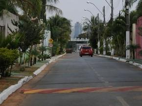 Condomínio residencial em Vicente Pires, no Distrito Federal (Foto: Renato Araújo/GDF)