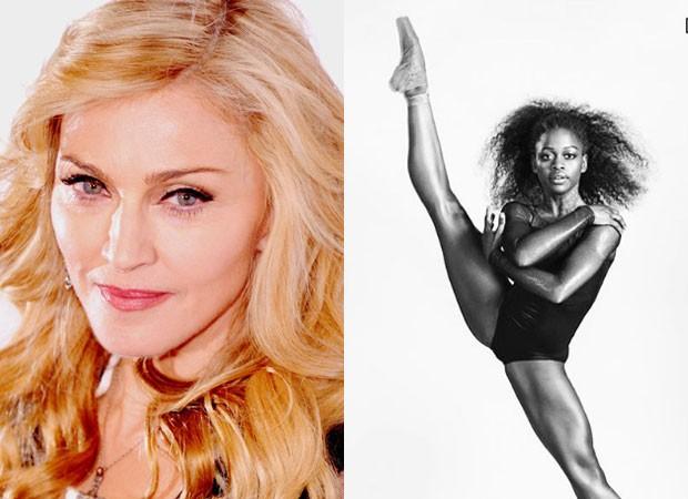 Madonna e bailarina Michaela DiPrince (Foto: Reprodução Instagram)
