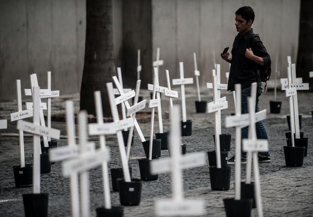 O Brasil obteve os piores resultados em homicídios, percepção da criminalidade e acesso às armas - criminalidade - assassinato -  (Foto: Marcelo Camargo - Agência Brasil)