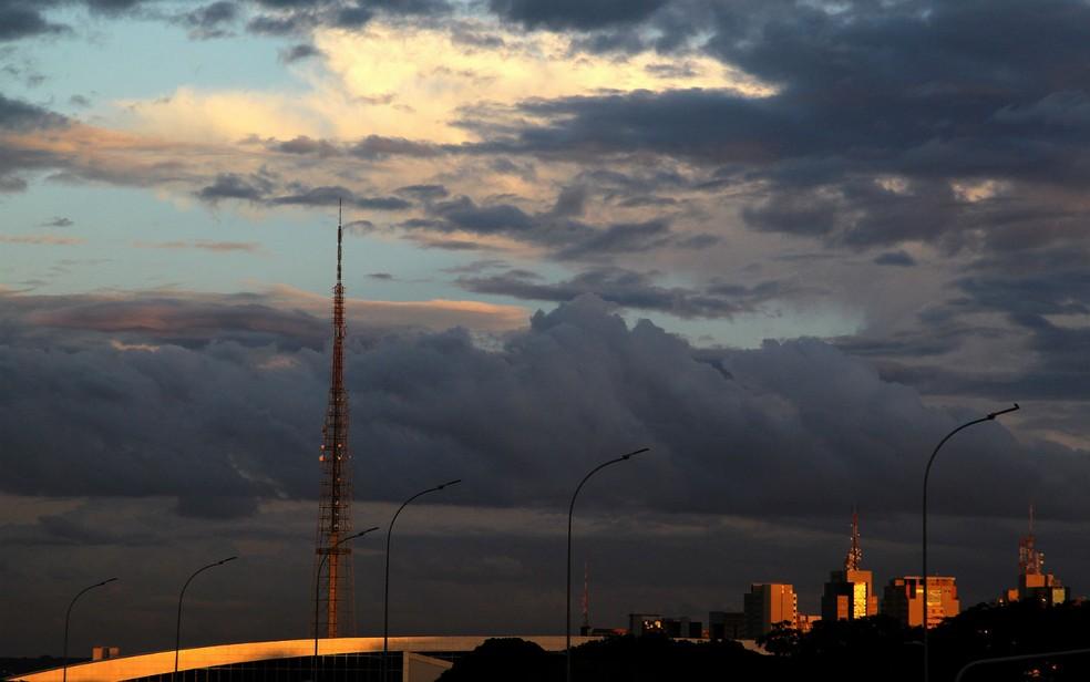 Dia seco em Brasília (Foto: Toninho Tavares/Agência Brasília/Divulgação)