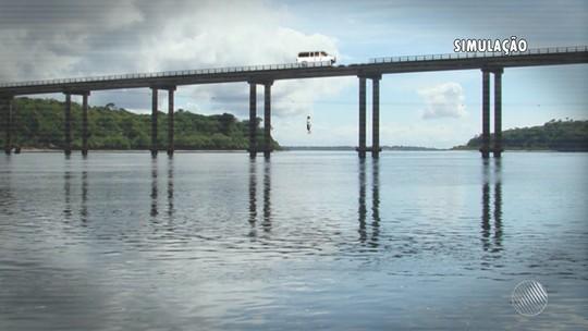 Arremessada de ponte de 20m após acidente relata susto: 'Nasci outra vez'