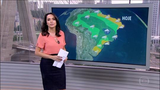 Minas Gerais e Goiás podem ter chuva forte; veja na previsão
