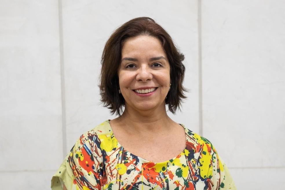 Denise Pires de Carvalho foi eleita para comandar reitoria da UFRJ — Foto: Diogo Vasconcellos/Divulgação