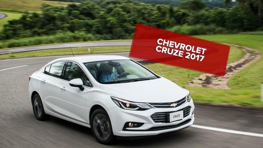 Chevrolet Cruze 2017: primeiras impressões